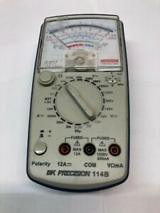 Bk Precision Multimeter With Test Leads 114b
