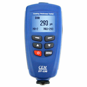 Cem Dt 156 Professional Paint Coating Thickness Tester Meter Gauge