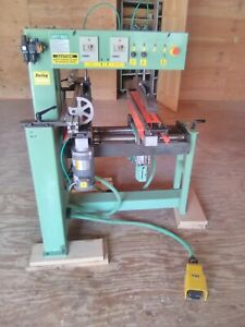 Conquest Industries 46 2 Line Boring Machine Cabinet Making Woodworking Drilling