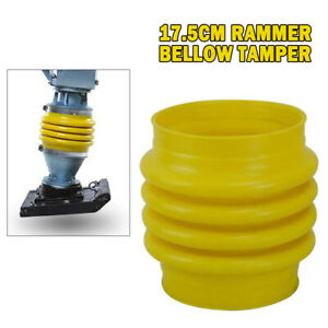17 5cm Jumping Jack Bellows Boot For Wacker Rammer Compactor Tamper Yellow