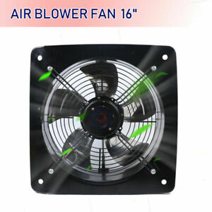 16 Ventilation Extractor Axial Exhaust Commercial Air Blower Fan 8000 M3 h New