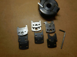 Industrial Wood Molder Moulder Head With Extra Knife Sets Knives Woodworking