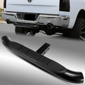 30 3 Tube Black Trailer Tow Hitch Step bumper Guard For Class Iii 2 Receiver