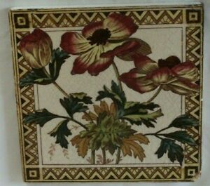 Charming English Aesthetic Colourful Period Tile
