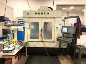 Used Hurco Vmx 42 Cnc Vertical Mill 2007 42 24 24 10000 Rpm 24 Smtc Ultimax