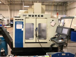 Used Hurco Vmx 24 Cnc Vertical Mill 2007 24 20 24 10000 Rpm 24smtc Chip Ultimax