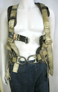 French Creek Fall Protection Safety Harness W Padded Lifting Belt No Tool Belt
