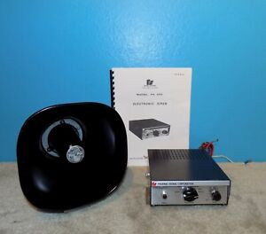 Federal Signal Corp Model Pa200 Electronic Siren W Pagepac Horn Working Loud