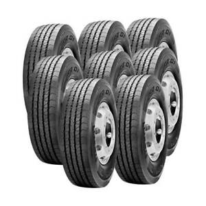 8 Tires 245 70r19 5 Pirelli Fr01 Truck Tire All Position 14 Ply