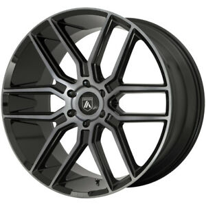 4 asanti Abl 28 Baron 22x9 5 6x135 30mm Black gray Wheels Rims 22 Inch