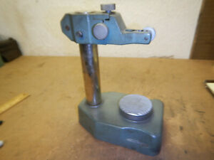 Mitutoyo Dial Indicator Checker Checking Stand With Anvil Machinist Tool Lot J