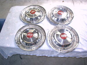 1957 Buick Hubcaps Set Of 4 15 Inch 6 20