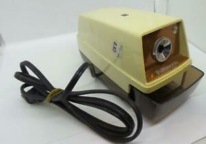 Panasonic Auto stop Electric Pencil Sharpener Kp 33s Tested Working Vintage