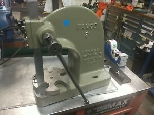 Di acro Bender No 2 Diacro 2 Bender With 3 Nose Rotary Bender Whitney
