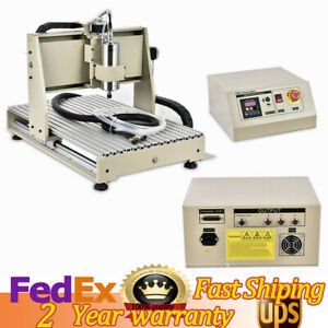 3axis 6040 Router Cnc Engraver Wood Milling Engraving Machine Parallel 1 5kw Usa