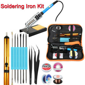 110v 220v 60w Electric Soldering Iron Kits Adjustable Temperature Welding