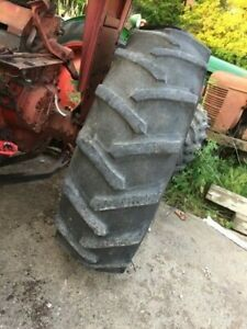 2 18 4 X 34 Tractor Firestone Tires 33 Tread Ih 656 560 706 806 756 Bevel Rims