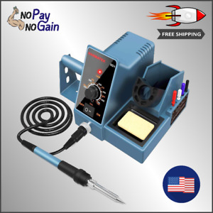 Durable Soldering Iron Station Kit With Temperature Adjustable And Rapid Heating