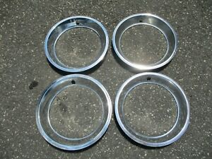 Genuine 1973 To 1977 Chevy Monte Carlo 15 Inch Trim Rings Beauty Rings