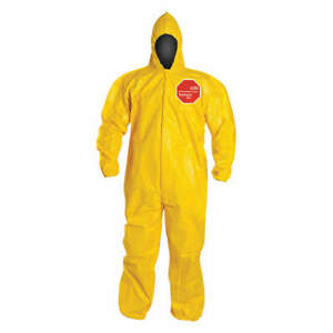 Dupont Tychem 2000 Size Xl Chemical Resistant Coverall W Hood 12 Pcs New In Box