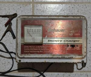 Schauer 6 12v Model B6612 Solid State Battery Charger Usa