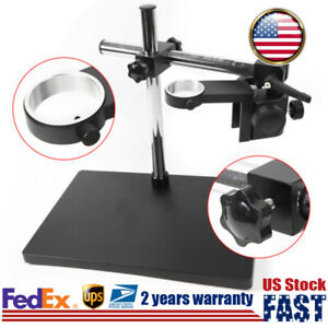 Microscope Camera Boom Stand Table Holder Multi axis Rotation Lift Bracket 340mm