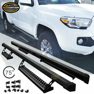 Fits 05 15 Toyota Tacoma Double Cab Trd Pro Oe Style Nerf Bar Running Boards