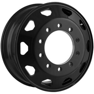 Ionbilt Ib02 Rear Inner 22 5x8 25 10x285 75 169mm Black Wheel Rim 22 5 Inch