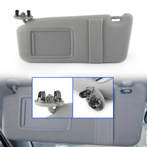 Left Driver Side Sun Visor Without Sunroof Fit 2007 2010 2011 Toyota Camry Gray