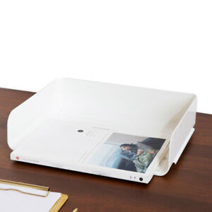 Filing Letter Trays Stacking Office A4 Desk Tidy Paper Document Organizer Holder