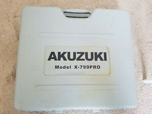 Akuzuki Contractor X 799pro Dual Hardwood Floor Cleat Nailer Stapler Used Once