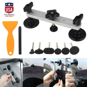 Pdr Car Paintless Dent Puller Bridge Tool Lifter Body Repair Hail Removal Set Us