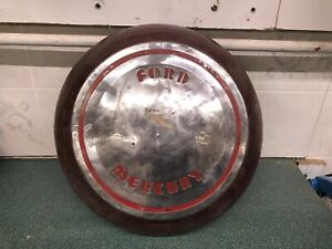 Rarest 1939 Mercury Hubcap In Existence Wheel Cover Ford Mercury Cap Flathead V8