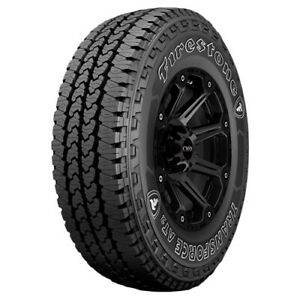2 lt275 65r18 Firestone Transforce At2 123r E 10 Ply White Letter Tires