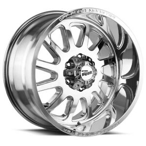 4 off road Monster M17 17x9 6x5 5 0mm Chrome Wheels Rims 17 Inch