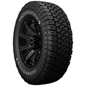 2 lt275 65r18 Firestone Destination X t 123 120s E 10 Ply White Letter Tires