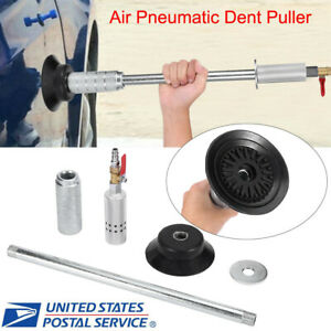 Air Pneumatic Dent Puller Repair Suction Car Auto Body Cup Slide Hammer Tool Kit
