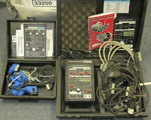Ford 007 00085 007 00086 Rotunda Transmission Tester Kit Cables Overlays