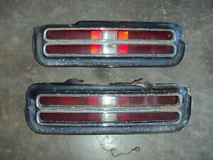 1969 Pontiac Gto Taillight Tail Lights Set 69