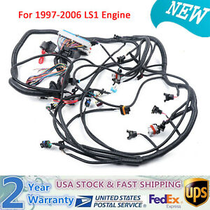 Nice 1997 2006 Dbc Ls1 Standalone Wiring Harness With T56 Transmission 4 8 5 3