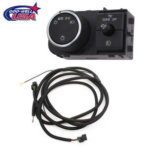 Fog Light Wiring Harness And Switch Fit For 2007 2014 Chevy Silverado Gmc Sierra