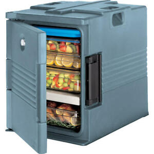 Cambro Ultra Insulated Food Carrier Hot Box Lockable Slate Blue Upc400sp 401