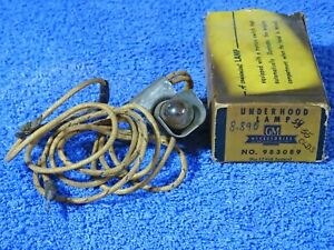 1954 1955 Oldsmobile Accessory Under Hood Lamp Nos