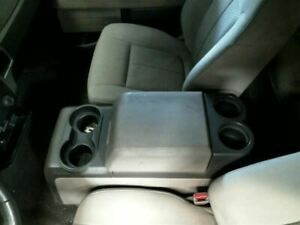 2009 2010 Ford F150 Front Floor Full Center Console With Lid Column Shift Gray