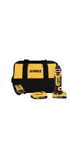 Dewalt Dcs551d2 20v Max Lithium Ion Cordless Drywall Cut out Tool Kit