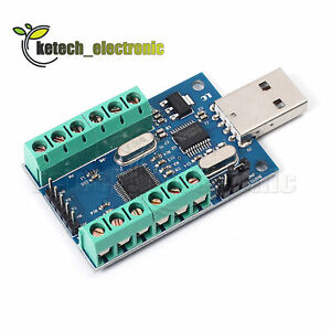 Usb 10 channel 12bit Ad Data Collection Module Stm32 Uart Adc Module New L2ke