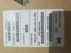 brand New Cisco Cp 7936 Ip Conference Station Speaker Phone 2805 06652 602