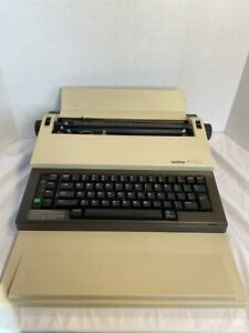 Brother Ax 10 Vintage Electronic Portable Typewriter Excellent Tested