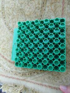 RCBS 50 Round Universal Reloading Tray Green 2232ACP17Rem & 45ACP $7.99