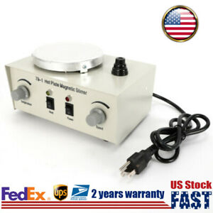 Magnetic Stirrer Digital Hotplate Mixer Stir Stirring Machine W Heating Plate